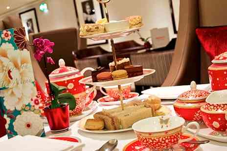 Thistle Marble Arch - Four Star Winter Warmer Afternoon Tea for Two With Mulled Wine  - Save 58%