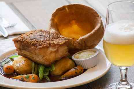 Hack & Hop - Three Course Sunday Lunch for One - Save 33%