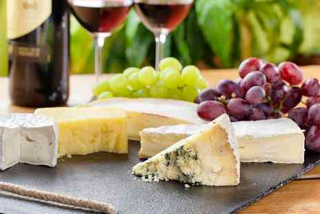 No 4 Coffee & Wine Bar - Cheeseboard and Wine for Two  - Save 50%
