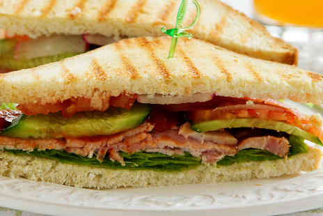 JKs Steakhouse - Sandwich or Wrap with Chips for Two - Save 60%