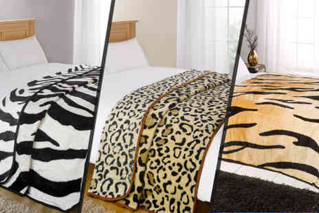 dosaver - Luxury Soft Blanket in Five Animal Designs - Save 33%