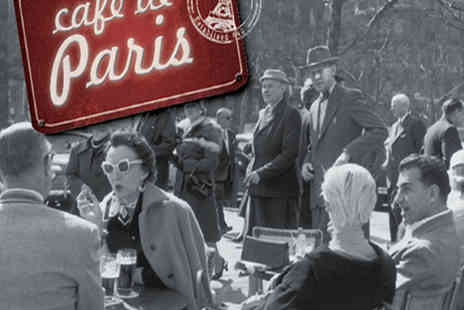 Memory Lane Media - Cafe de Paris - Save 46%