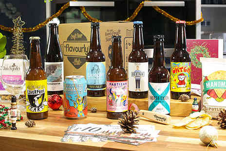flavourly - Flavourly Ultimate Christmas Craft Beer Gift Box - Save 68%