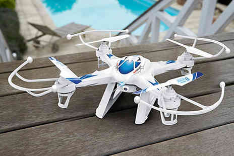 Toy Loco - TW-X8 Quadcopter with HD Camera & Livestream Video - Save 19%