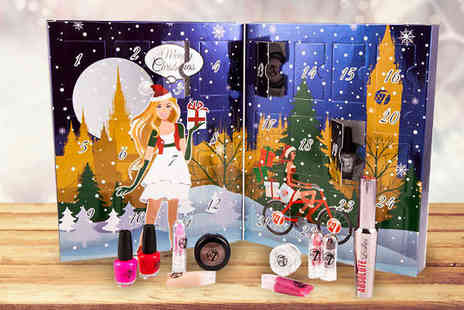 Cosmetic World - W7 Cosmetics Advent Calendar - Save 63%