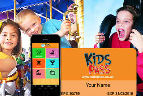 Kids Pass - 12 Month Money Saving Kids Pass to Attractions Nationwide - Save 50%
