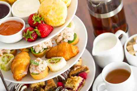 The London Elizabeth Hotel - Festive Afternoon Tea with a Glass of Mulled Wine for Two  - Save 31%
