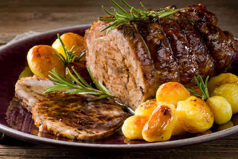 Tea on the Wall - Chester City Wall Two Course Sunday Roast for Two - Save 46%