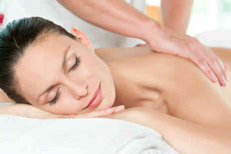 ENVI Hair and Beauty Lounge -  One hour full body massage with glass of Prosecco 30 minute facial - Save 53%