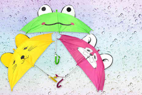 Shop Monk - Childrens animal dome umbrella - Save 50%