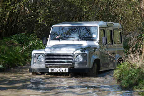 Experience The Country - Off road 4 x 4 driving experience for two   - Save 55%