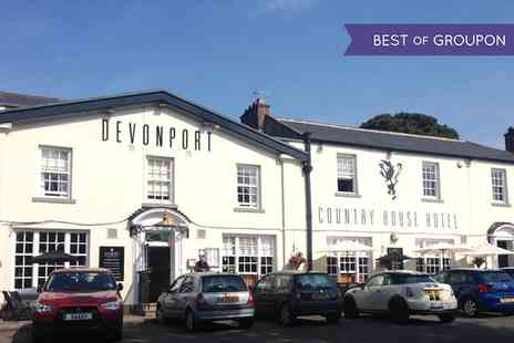 Devonport Hotel - One or Two Nights stay For Two With Breakfast And Dinner  - Save 0%