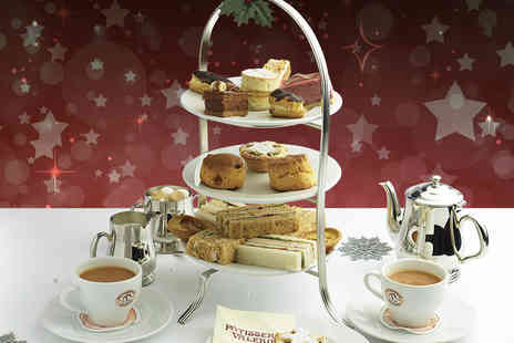 Patisserie Valerie - Festive Mince Pies and Drinks  for Two  - Save 51%