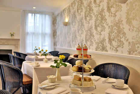 Best Western Grosvenor Hotel - Deluxe or Festive Afternoon Tea for Two  - Save 47%