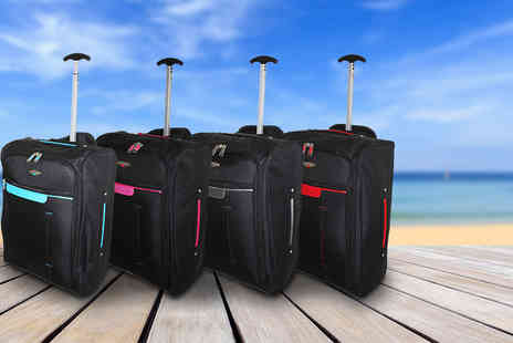 Pahal Trend - Cabin approved wheelie hand luggage - Save 77%