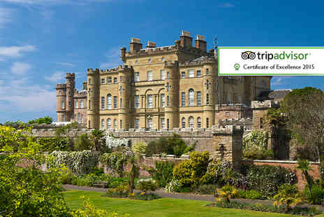 Culzean Castle - Overnight castle stay for two inc. country park entry and a sparkling cream tea - Save 42%