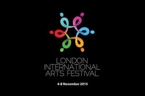 Dhruv Arts Organisation - Two Tickets to The London International Arts Festival 2015 - Save 56%