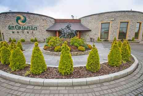 An Grianan Hotel - One or Two Nights stay For Two With Breakfast  - Save 0%