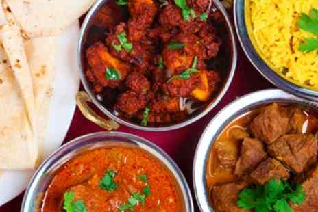 Roopsha - Two Course Indian Meal wit Wine  - Save 42%