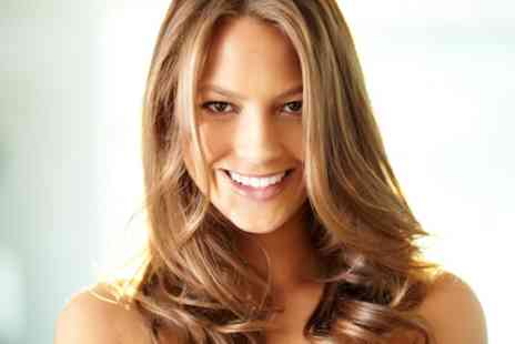 Indigo Hair - Cut and Blow Dry with Highlights - Save 57%