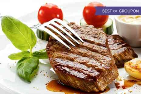 Hilton DoubleTree Woking - Steak Dinner with Wine for Two  - Save 64%