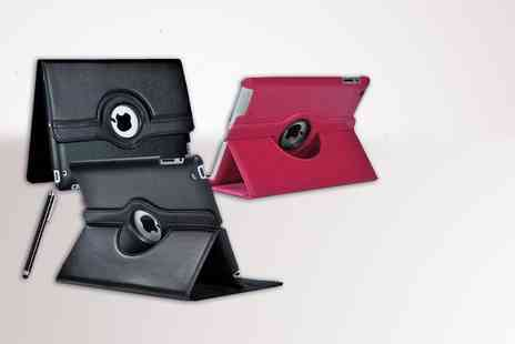 Evaniy Accessories - 360° rotating case and bundle for iPad 2, 3, 4, iPad Mini or Google Nexus 7 - Save 75%