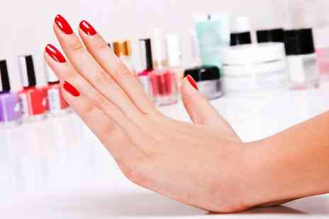 The Mews Nail Boutique - Gelish Manicure with an Optional Pedicure   - Save 48%