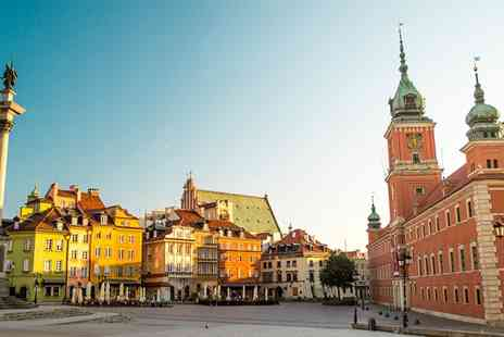 The Best of Poland -  Three Nights Stay in Warsaw and Three Nights in Krakow With breakfast train ticket and flights - Save 0%