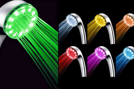 eBuzz Ltd - LED Shower Head - Save 68%