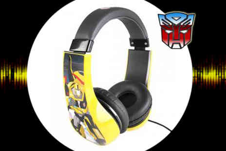 Sonic - Transformers Kids Safe Headphones - Save 50%