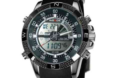 Stylematch Online - Mens Luxury Weide Dual Display Sports Watch - Save 70%