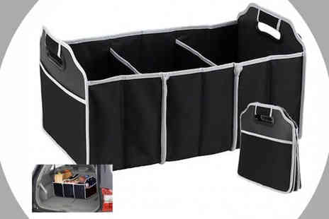 The Treasure Chest - Foldable Car Boot Organiser And Shopping Tidy - Save 70%