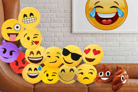 Emoji Shop - Yellow emoji cushion - Save 42%