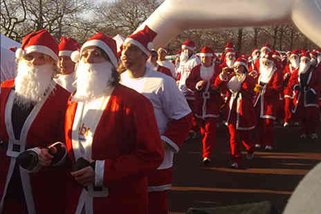 Orchid Male Cancer Charity - Two to fundraise and take part in a charity Santa Dash  - Save 55%