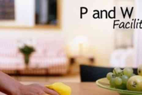 P and W Facilities - Four Hours of House Cleaning - Save 60%