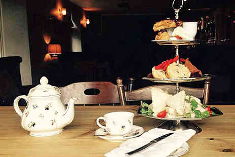 The Percy Arms - Afternoon Tea with Glass of Prosecco Each for Two - Save 0%