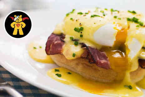Bohemia Brighton - Breakfast with Glass of Prosecco Each for Two - Save 52%