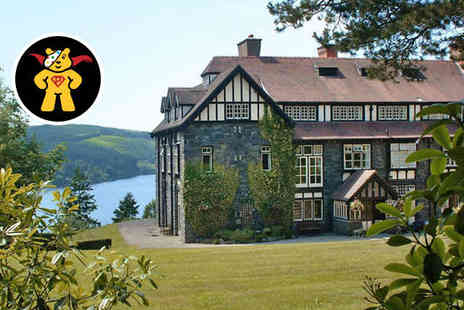 Lake Vyrnwy Hotel and Spa - Overnight Stay for Two in Garden View Double Room with Daily Full Welsh Breakfast - Save 0%