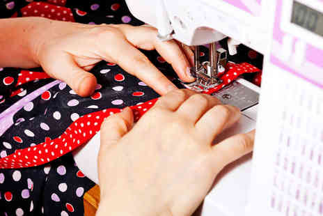 Sew Fabulous - Two Hour Absolute Beginners Sewing Class - Save 50%