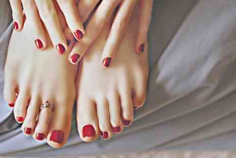 HIPSWELL HAIR - Shellac Manicure, Pedicure or Both  - Save 0%