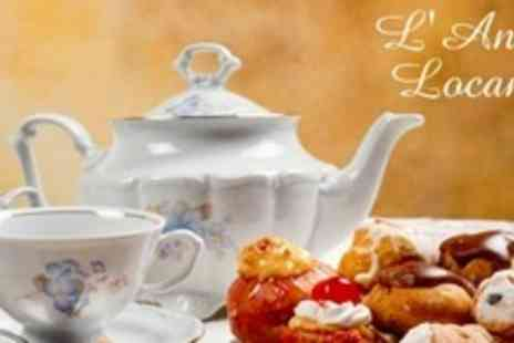 LAntica Locanda - Italian Afternoon Tea For Two - Save 63%