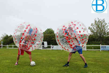 Bubble Boys - Bubble Football Game for 16  - Save 41%