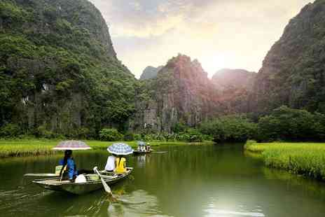 Vietnam Round Trip - Two week tour of Vietnam with return flights, hotels, transfers, guide - Save 0%