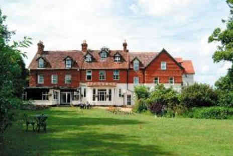Moorhill House Hotel - One Night Hotel Escape for Two   - Save 30%