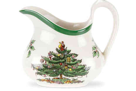 Park Promotions - Spode Christmas Tree Cream / Brandy Sauce Jug - Save 52%