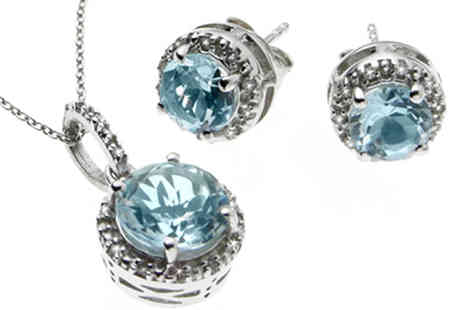 Lyncroft Marketing - Blue Topaz & Diamond Collection - Save 0%