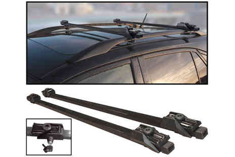 Plus Bee - Anti Theft Lockable Universal Vehicle Roof Bar - Save 43%