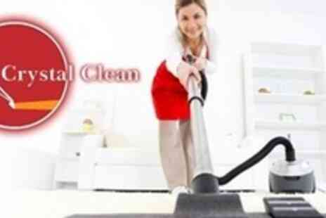 Crystal Clean - Carpet Cleaning in Four Rooms - Save 68%