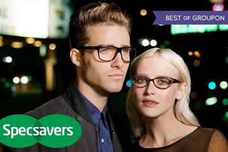 Specsavers Opticians -  Designer Glasses Plus Eye Test  - Save 0%