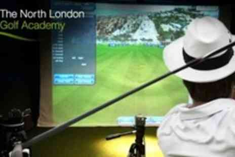 The North London Golf Academy - PGA Golf Lesson and Practice Session  - Save 65%